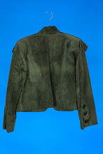 Givenchy Green Suede Jacket