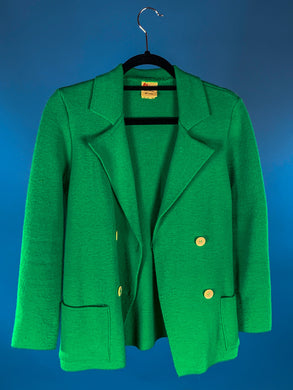 Wahls Green Sweater