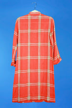 Donald Davies 1970s Plaid Tunic