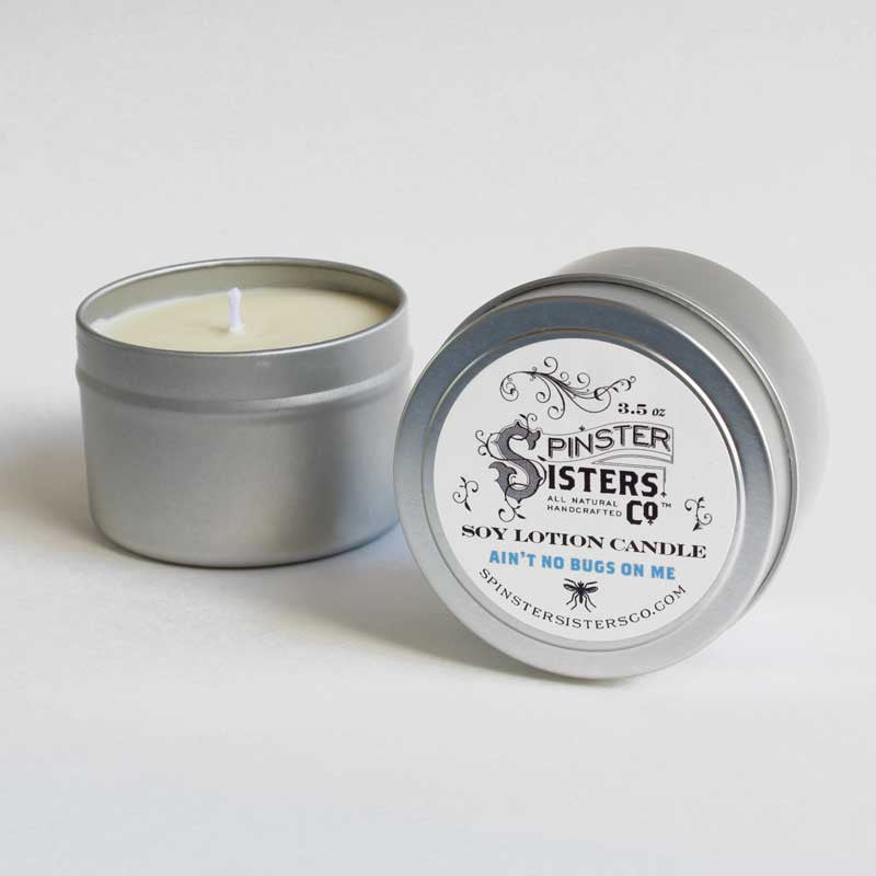 Ain't No Bugs On Me Soy Lotion Candle