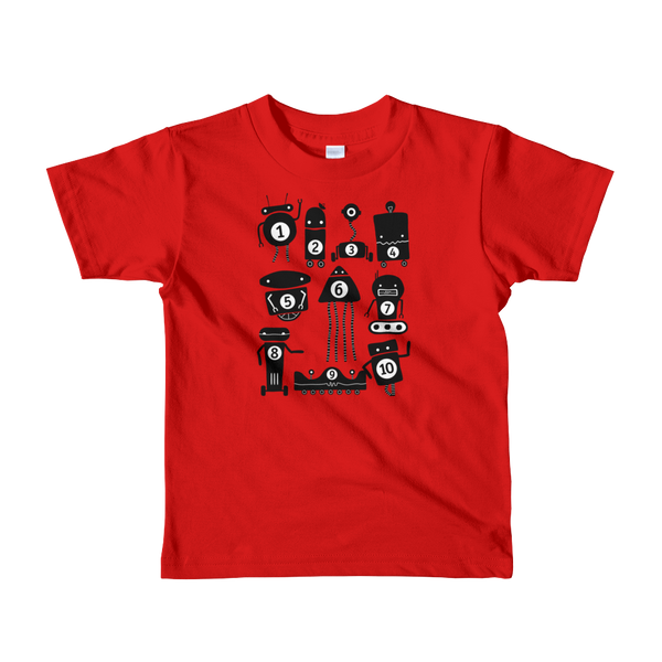 Little 10 Robot t-shirt