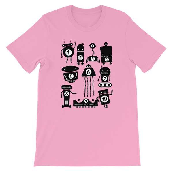 10 Little Robots Shirt (Adult)