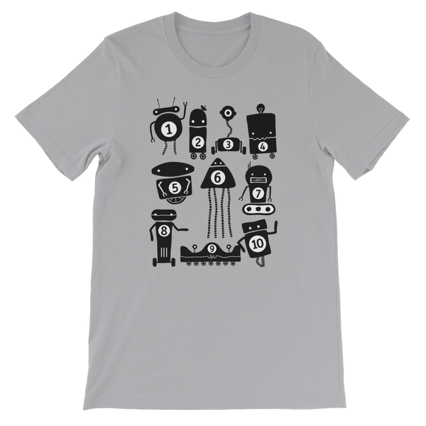 Little 10 Robot t-shirt, app company, Apps for kids. Kid apps, educational apps