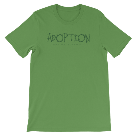 "Leaf Unisex ""Adoption Grows a Family"" T-shirt"
