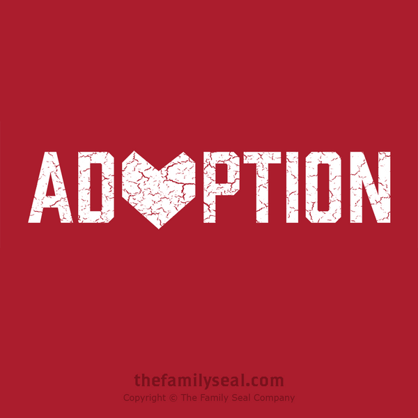 The Family Seal. Adoption Gifts. Adoption Day. Adoption shirts. Adoption Love. Love Makes a Family.
