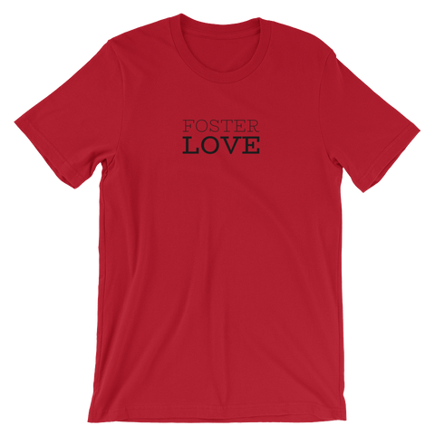 Red Foster Love t-shirt