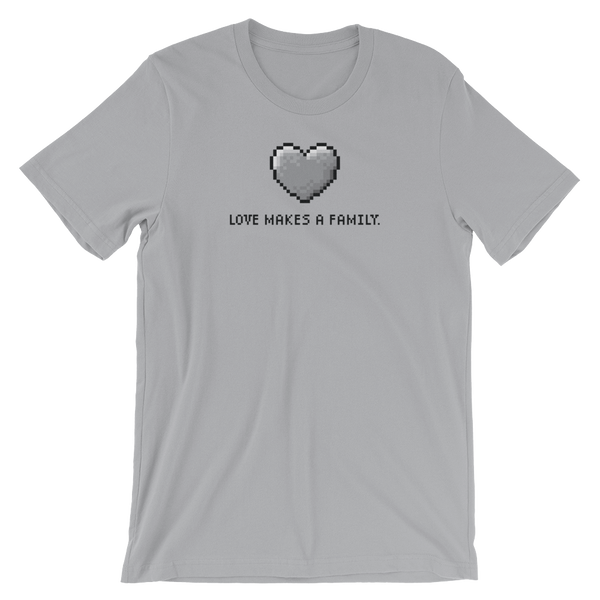 Loves Makes a Family tshirt