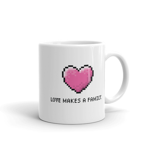 Adoption Mug. Adoption Day. Adoption. Loves Makes a Family. Adoption Gifts. Adoption Love.