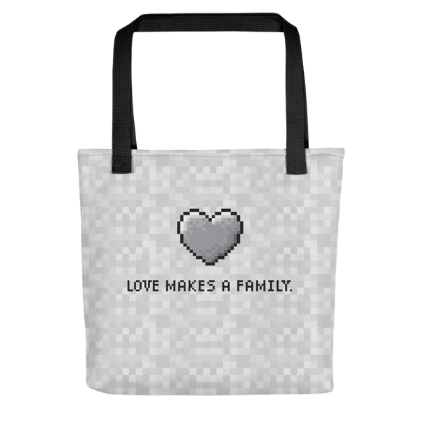 Adoption Tote. Adoption Day. Adoption. Loves Makes a Family. Adoption Gifts. Adoption Love.
