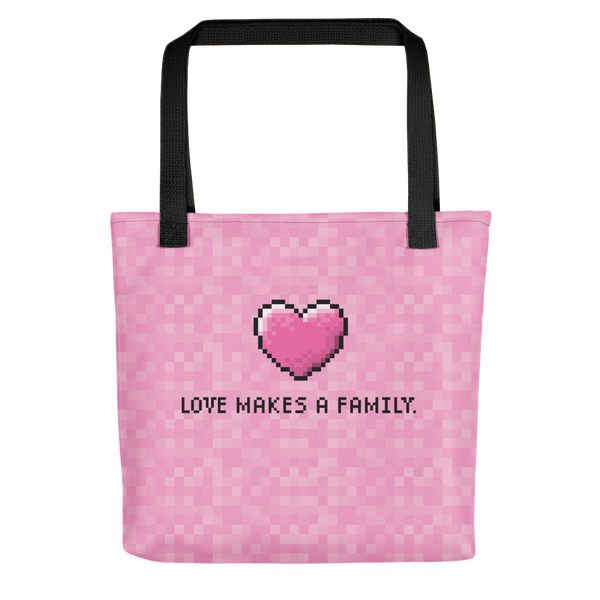 Loves Makes a Family-Adoption Tote