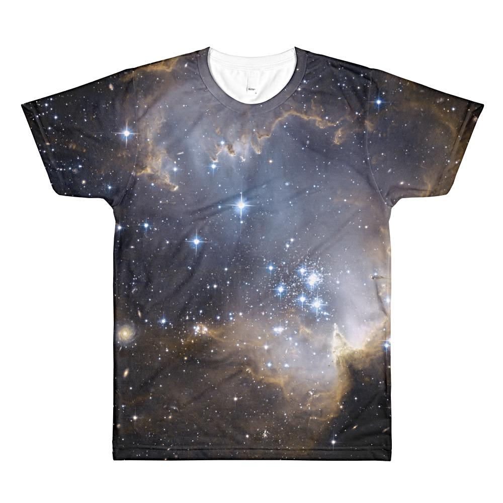 Beautiful Cosmos Unisex 3D Polyester Lightweight T-Shirt , XS - 2XL