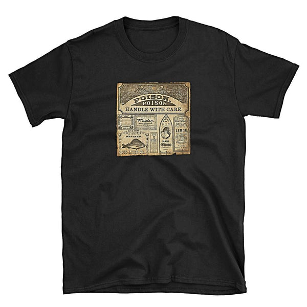 Poison Vintage Unisex T-Shirt by 11fh11