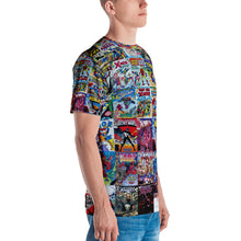 Comics Unisex Four-Way Stretch Polyester Blend Jersey