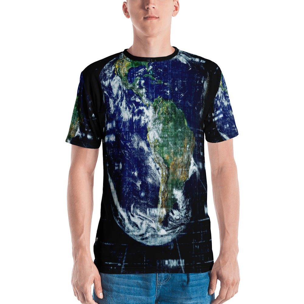 Wired Earth Lightweight Polyester Raver Unisex 3D T-Shirt
