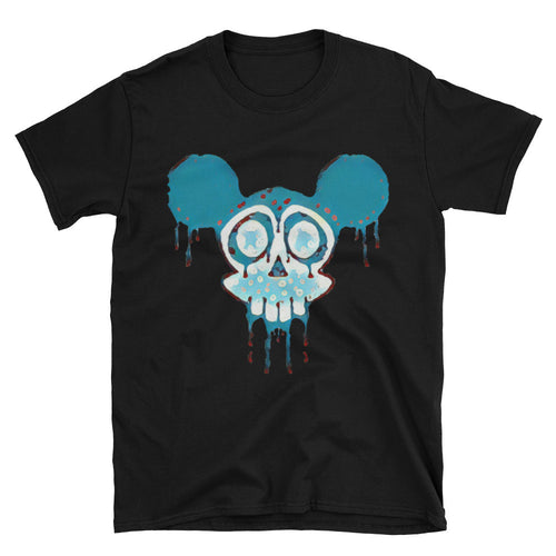 Acid Mickey Mouse Unisex T-Shirt 100% cotton / Black S- 3XL by 11fh11