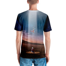 UFO 3D Unisex Four-Way Stretch Polyester Blend Jersey