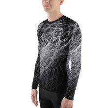 Voltage 3D Unisex Four-Way Stretch Polyester Blend Long Sleeve Jersey, XS - 3XL