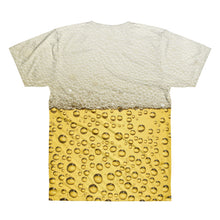 Cold Beer Unisex Lightweight Polyester 3D T-Shirt, XS - 2XL