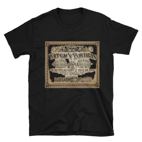 Witch Powders Unisex Vintage T-Shirt by 11fh11