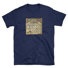 Poison Vintage Unisex 100% Cotton T-Shirt, Navy