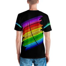 I Love Music 3D Unisex Four-Way Stretch Polyester Blend Jersey, XS - 2XL
