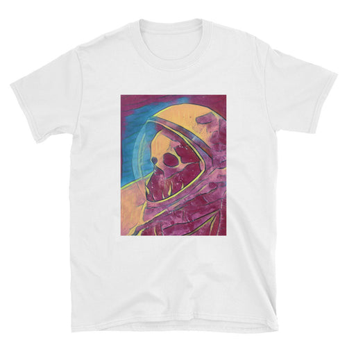 Space Ghost Unisex 100% Cotton T-Shirt, White S- 3XL