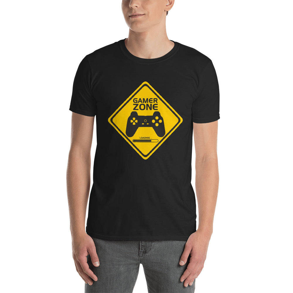 Gamer Zone Short-Sleeve Unisex 100% Cotton T-Shirt, S - 3XL
