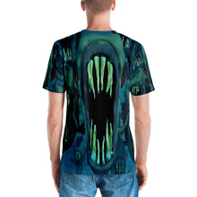 Mega Piranha 3D Unisex Four-way Stretch Polyester Blend Jersey, XS - 2XL back