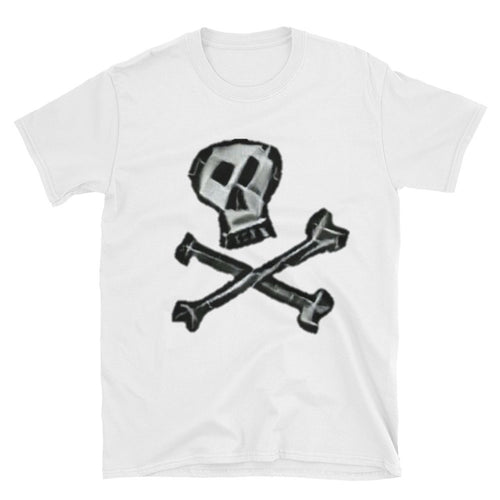 Skull*Bones Unisex 100% Cotton White T-Shirt, S- 3XL
