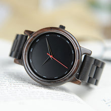 Beautiful Elegant Dark Wood Men Watch