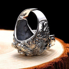 Rockin' Skull  925 Sterling Silver Adjustable Ring