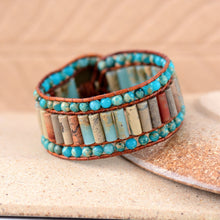 Beautiful Natural Stone Vintage Bracelet