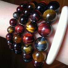 Tiger Eye Natural Stone Unisex Bracelet (1pc.)