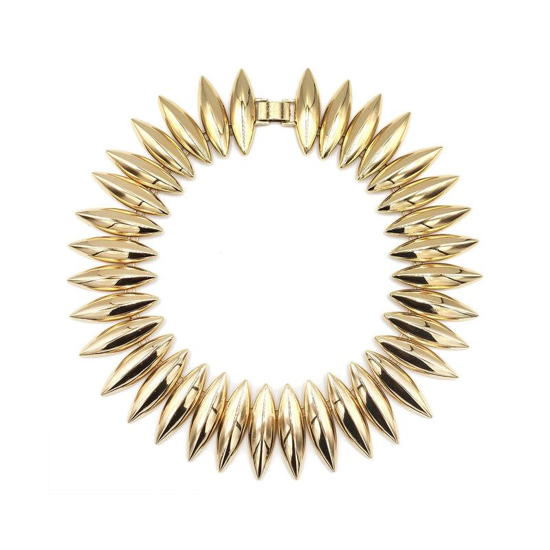 Talon Necklace Gold-TULESTE-shop-olivia.com