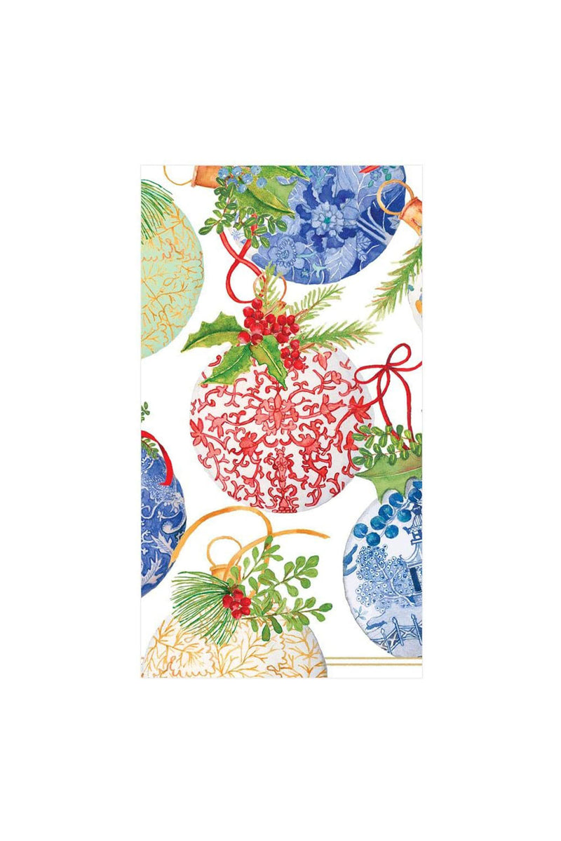 Porcelain Ornaments Paper Guest Towel Napkins