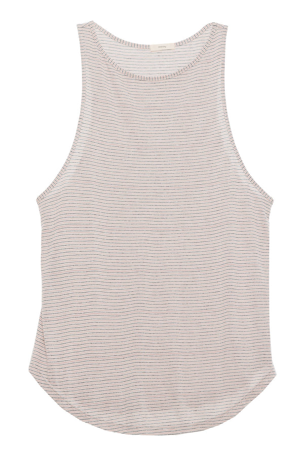 Lenny Performance Tank Top Blush Heather Grey