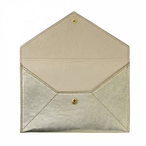 White Gold Morocco Envelope