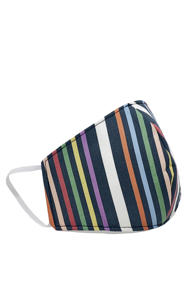 Face Mask Multi Stripe