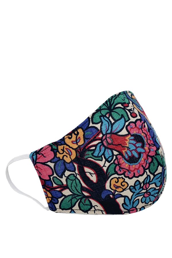 Face Mask Multi Flower