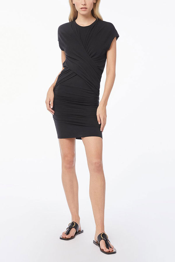 Shirred Muscle Dress