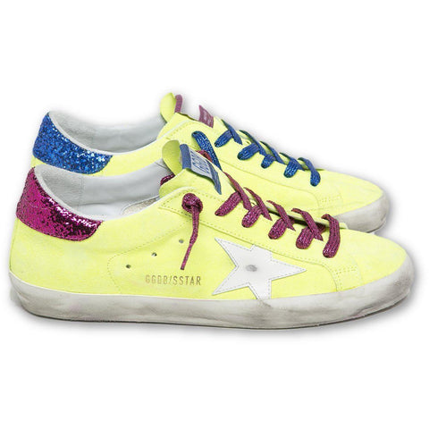 Superstar Yellow Fluo Sneakers