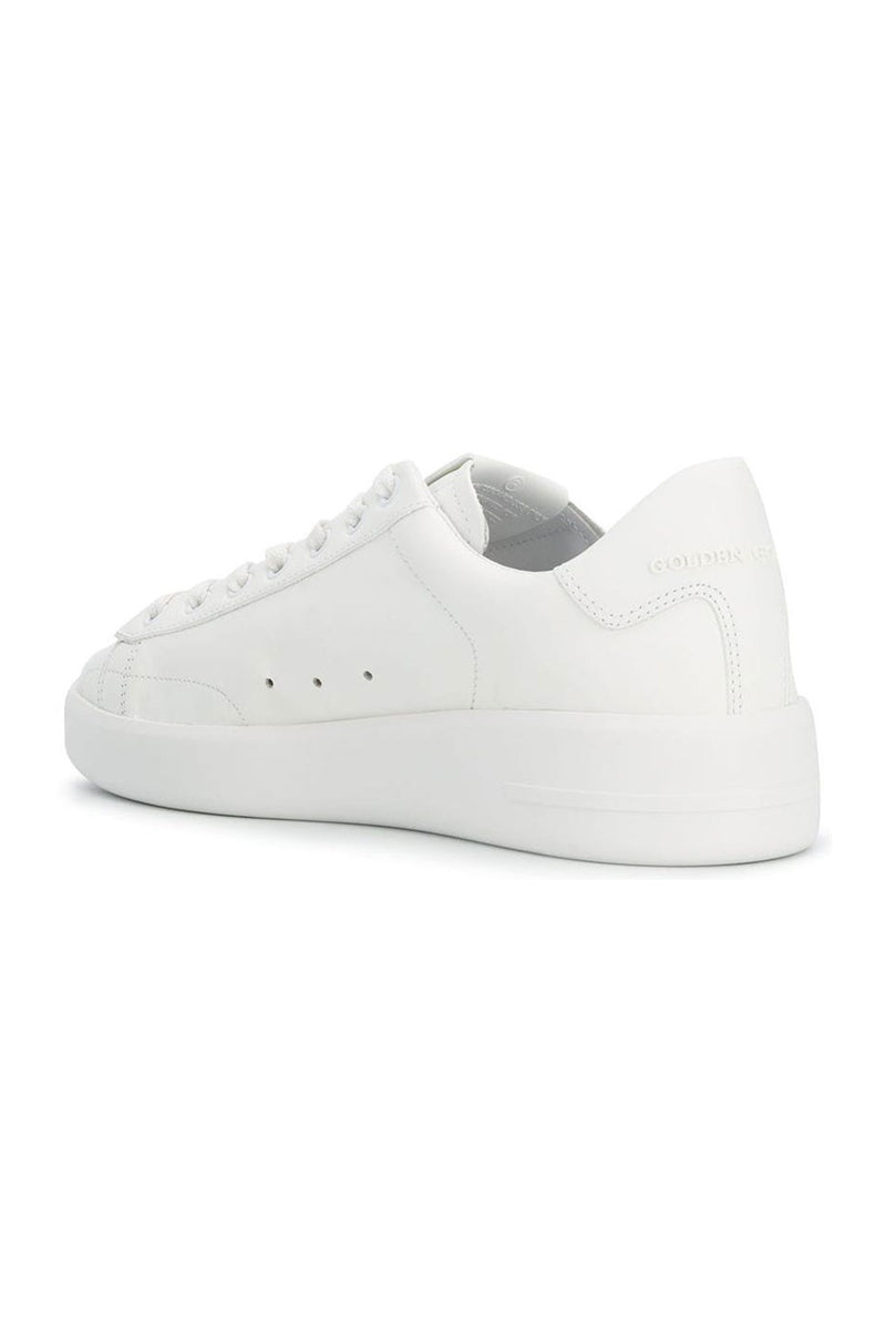Pure Star White Leather Sneakers
