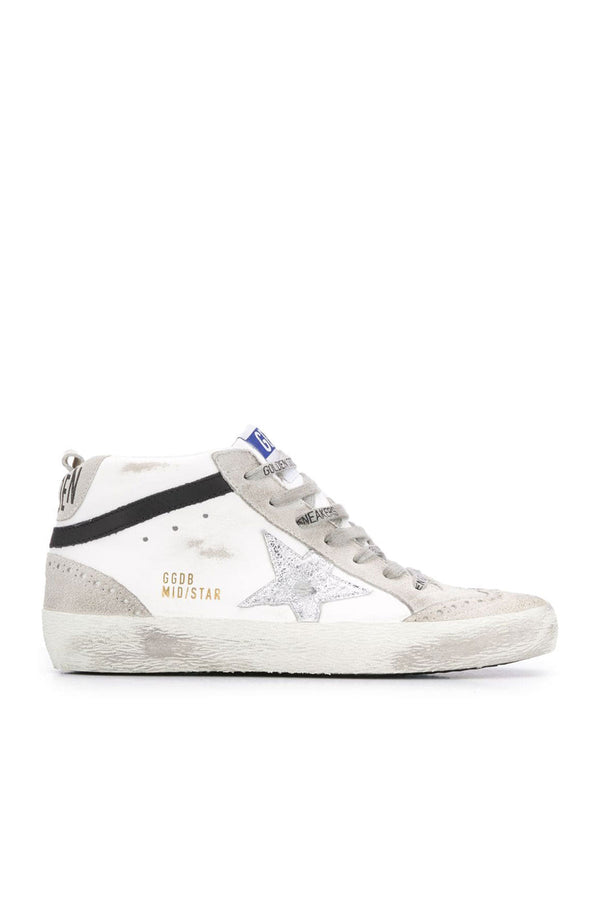 Mid Star Wave Laminated Star Sneakers