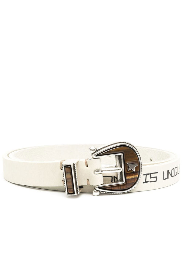 Rodeo Washed Leather Belt