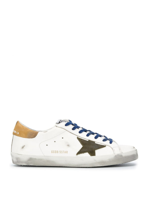 Superstar Leather Upper Nabuk Heel Men Sneakers