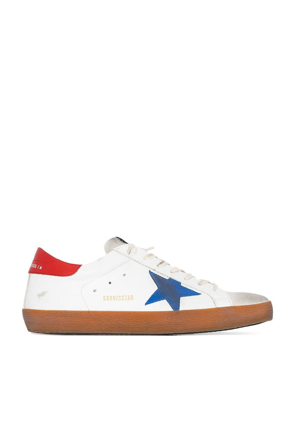 Superstar Red & Blue Star Men Sneaker