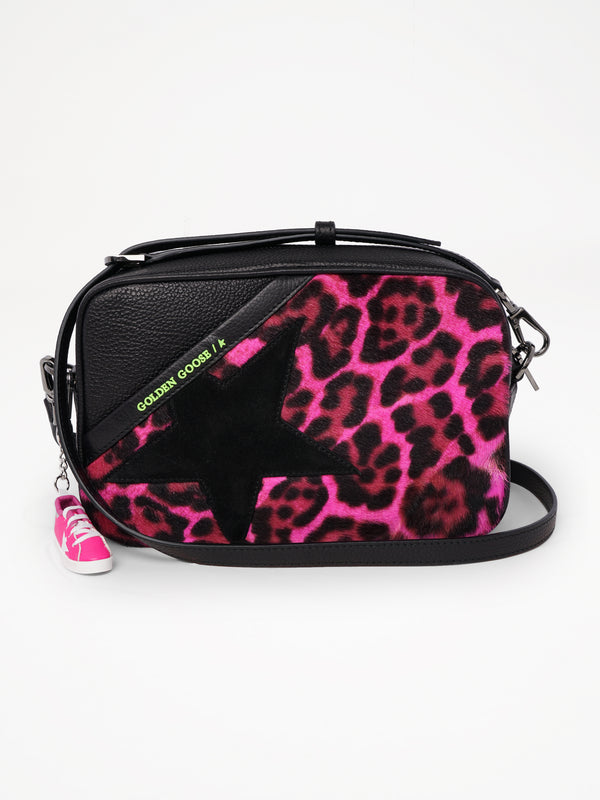 Star Bag Leopard Fur Print