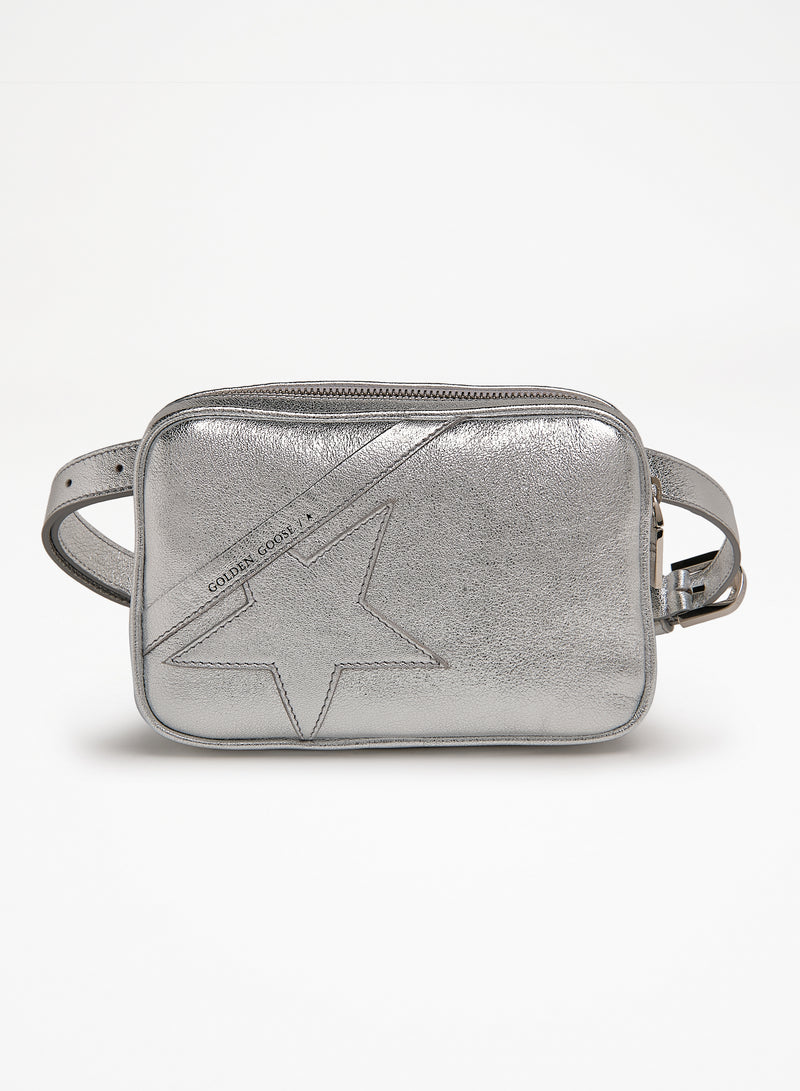 Star Belt Bag Silver