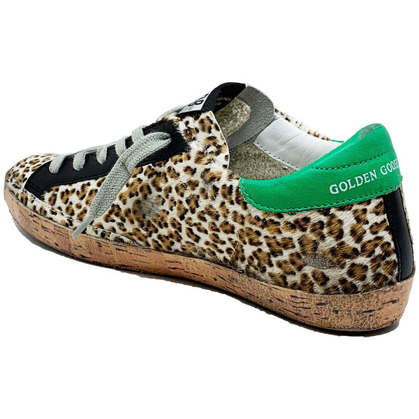 Superstar Leopard Pony Sneaker