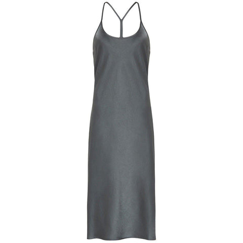 Wash & Go Woven Dress Smoke
